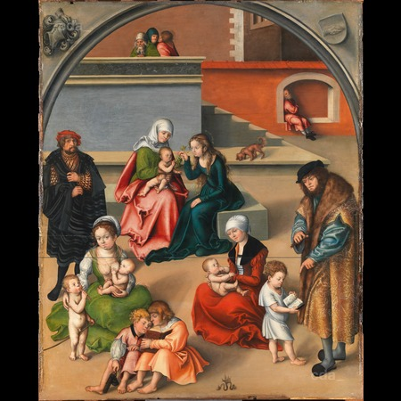 Cranach - The Holy Kinship