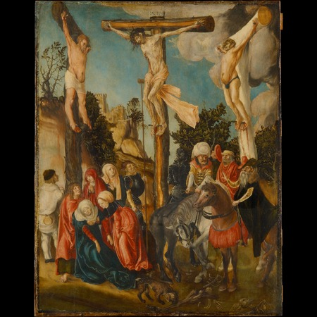 Cranach - The Crucifixion of Christ, the so-called Schottenkreuzigung