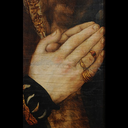 Lucas Cranach the Elder - Anhaltische Gemälde-Galerie, Dessau - Altarpiece of the Virgin, or so-called Princes' Altarpiece [left wing] - Detail Images