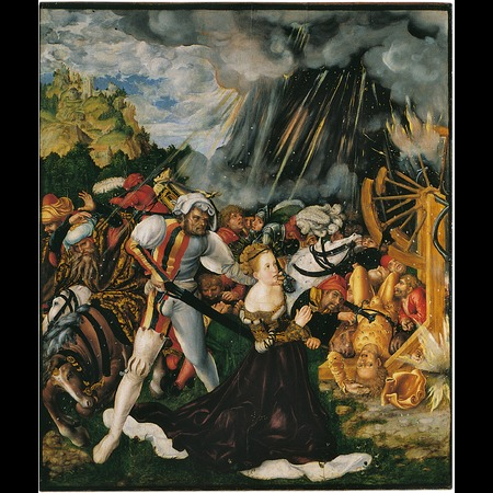 Lucas Cranach the Elder - Ráday Library of the Reformed Church, Budapest - The Martyrdom of St Catherine - Overall