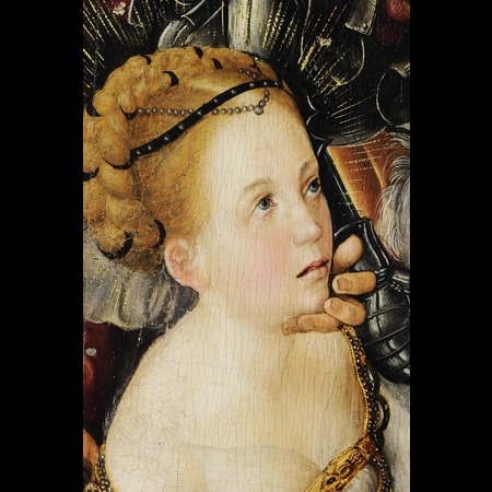 Lucas Cranach the Elder - Ráday Library of the Reformed Church, Budapest - The Martyrdom of St Catherine - Detail Images