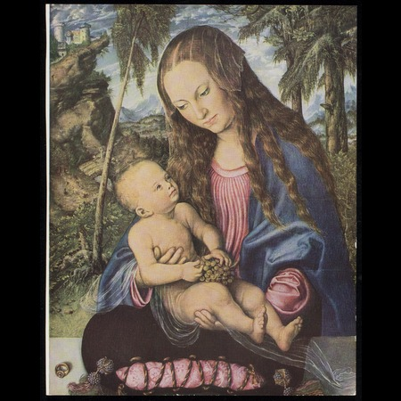 Lucas Cranach the Elder - Muzeum Archidiecezjalne Wroclaw - Virgin and Child (Called the Madonna under the Firs) - Overall