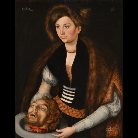 Cranach - Salome with the Head of Saint John the Baptist