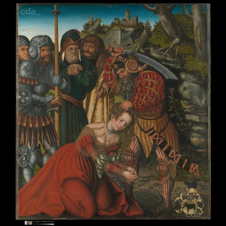Lucas Cranach the Elder - The Metropolitan Museum of Art, New York - The Martyrdom of Saint Barbara - Overall