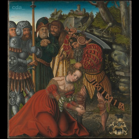 Cranach - The Martyrdom of Saint Barbara